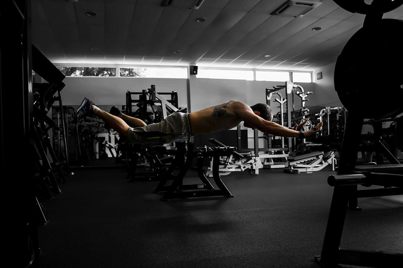 Photographie : Sport, pompes sautées