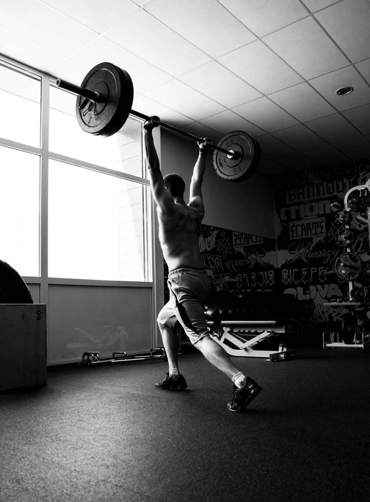 Photographie : Sport, épaulé jeté