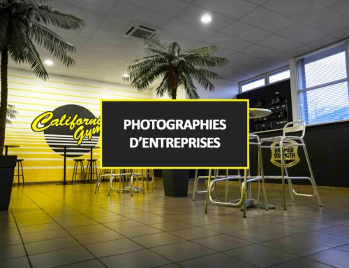PHOTOGRAPHIES D'ENTREPRISES 2018-2019