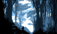 Digital Art : Blue jungle
