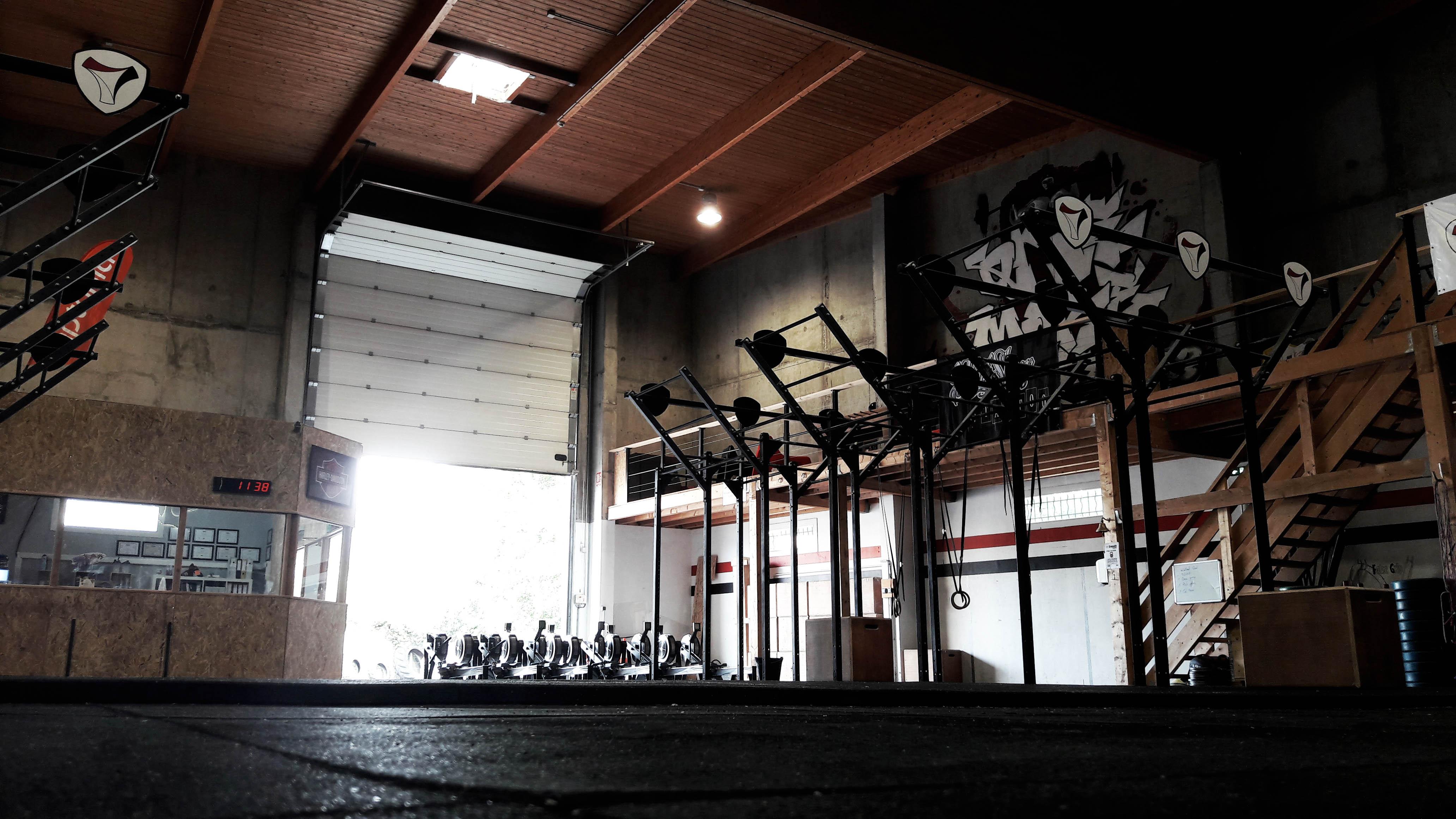 Photographie : CrossFit Grenoble la boxe, espace musculation