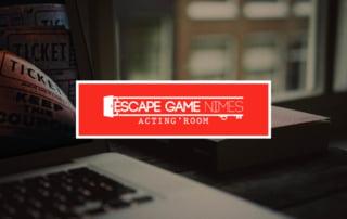 Création du site internet pour un espace Game à Nîmes