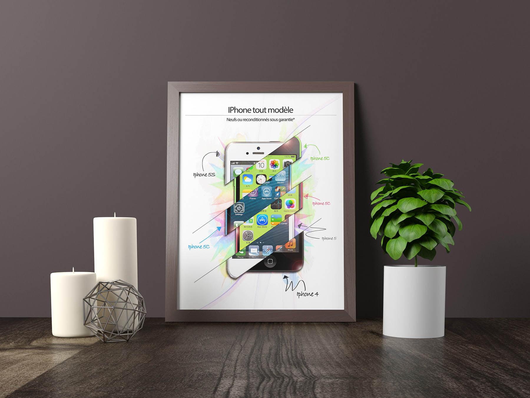 Affiche : Iphone 5