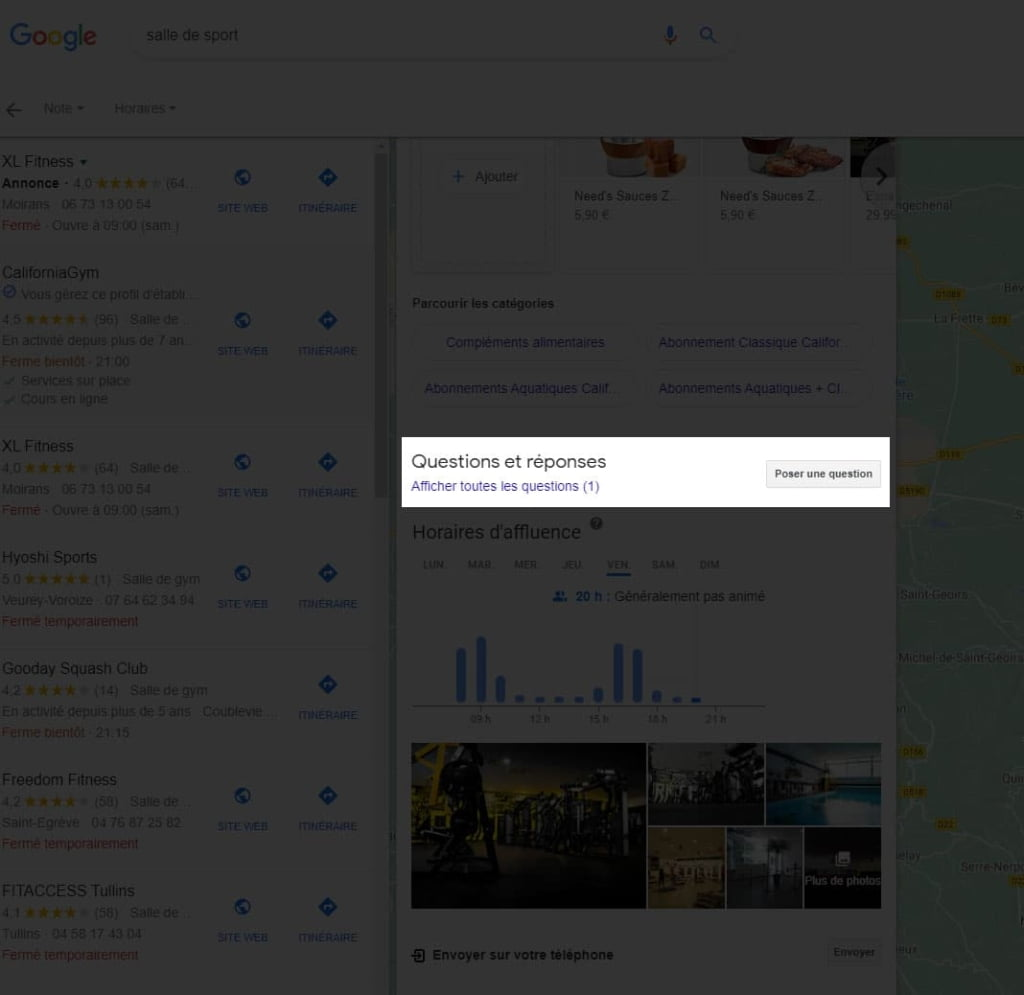 10 - questions et réponses sur google my business et maps