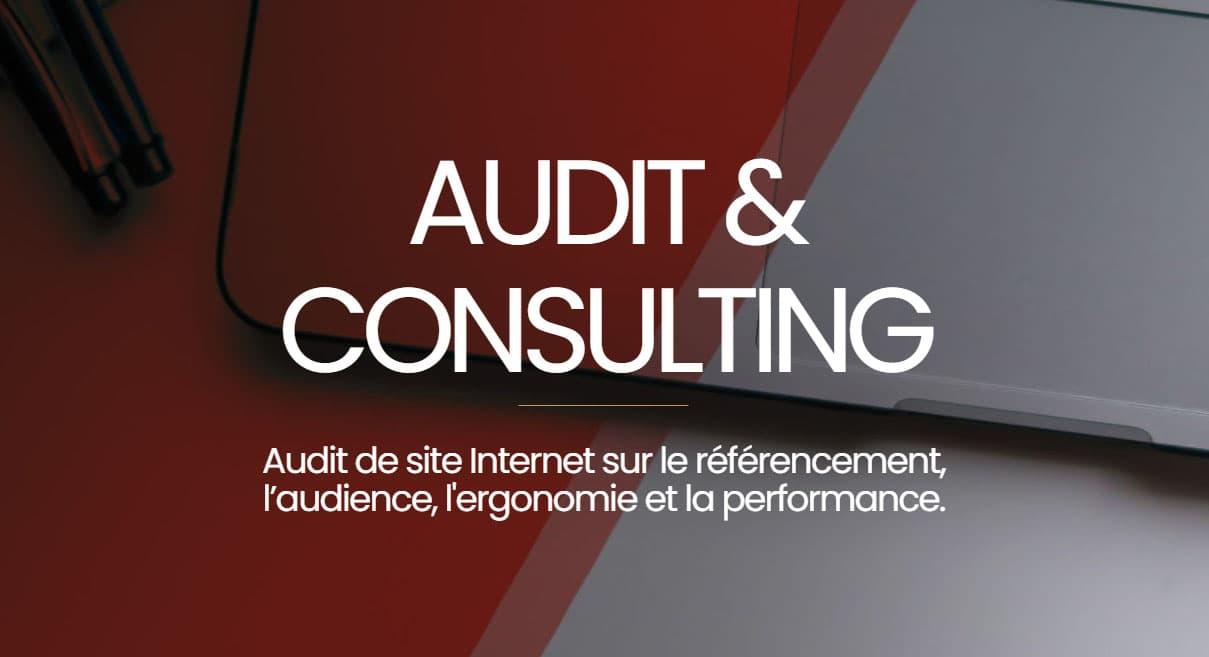 audit et consulting de vos sites internet