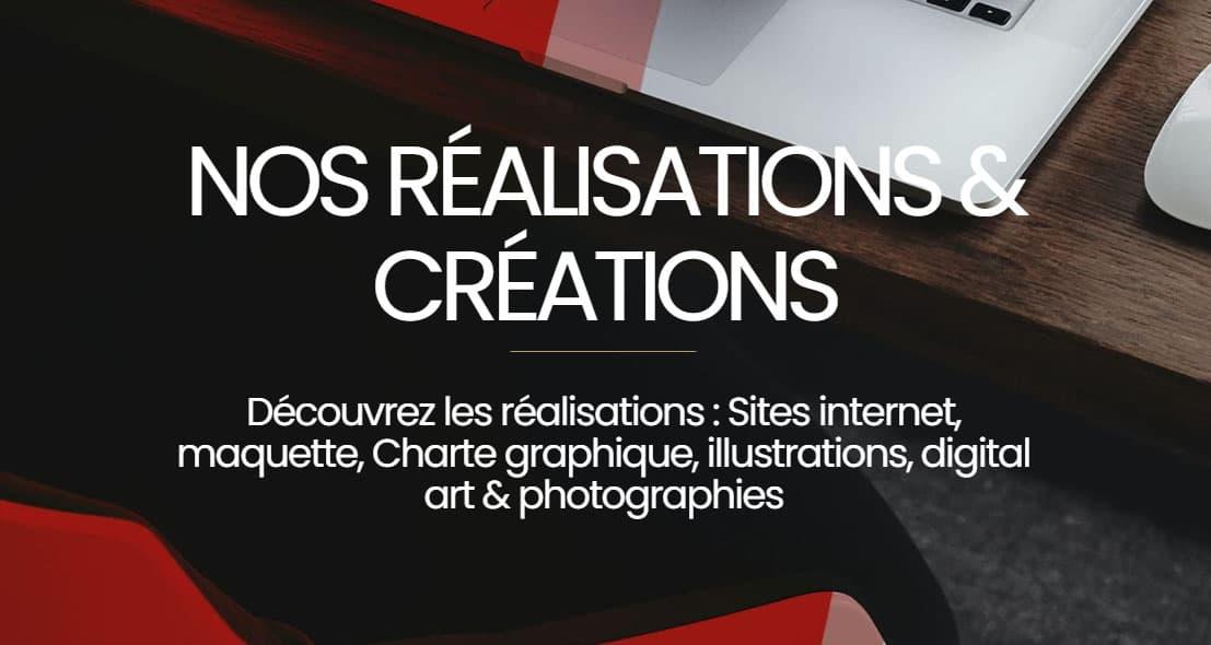 réalisations et créations de sites internet 38